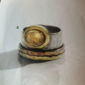 Silpada Metallic Mix Ring